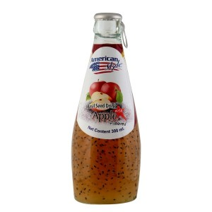 BASIL SEED DRINK APPLE 300 ML