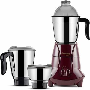 Butterfly Jet 3 Jar 750 Walts Heavy Duty Mixer Grinder