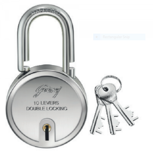 Godrej 8150 Steel Round lock Set