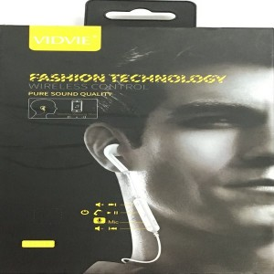 VIDVIE FASHION TECHNOLOGY BLUETOOTH HEADSET