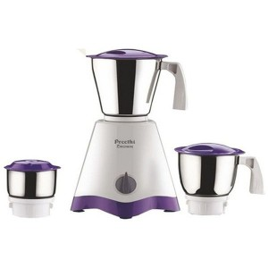 Preethi Crown MG-205 500 W Mixer Grinder (White/Purple, 3 Jars)
