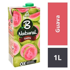 B NATURAL GUAVA 1 LTR