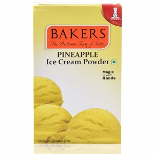 BAKERS PINE APPLE ICE CREAM MIX POWDER