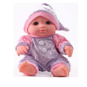 DARLING LOVELY BABY DOLL PURPLE (3 + year up)