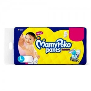 MAMYPOKO Pants - L (9 kg to 14 kg) 46 PCS