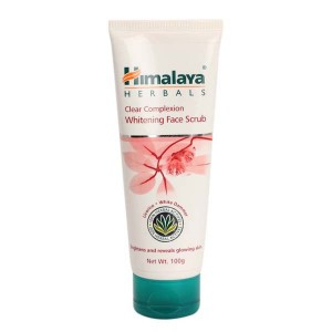 Himalaya Herbals Clear Complexion Whitening Face Scrub, 100g