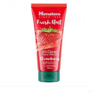 HIMALAYA FRESH START FACE WASH StrawBerry( 100 ml)