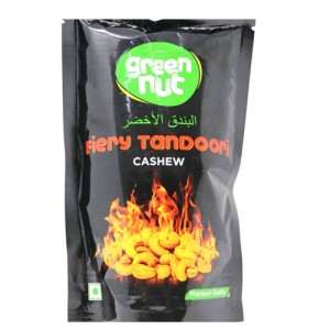 Green Nut's Fiery Tandoori Cashew Dry Fruit 100g