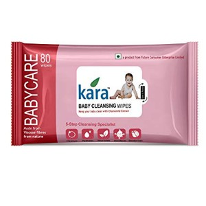 Kara Baby cleansing wipes 80 Wipes