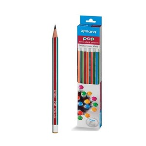 Apsara POP Extra Dark Pencils - Pack of 10
