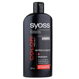 Syoss Pro-cellium Keratin Color Protect Shampoo 500 ML