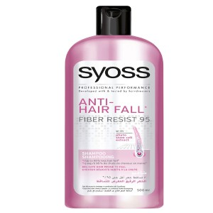 Syoss Anti hair fall fiber resist 95 shampoo (500 ml)