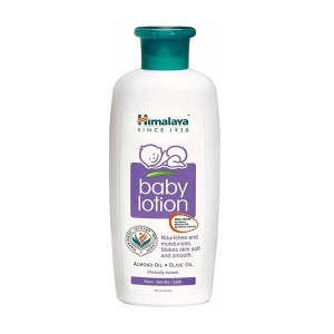 Himalaya Baby Lotion (almond oil , olive oil)