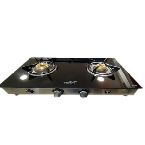 V-GUARD AUTO IGNITION 2 BURNER GAS STOVE