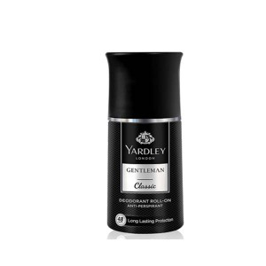 YARDLEY LONDON ROLL-ON DEODORANT GENTLEMAN CLASSIC 50ML