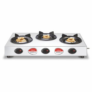 Vidiem Vector Plus 3B SS Gas Stove