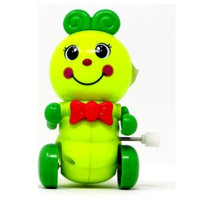 Caterpiller Shaped Toys WindUp and Friction Toys (green)