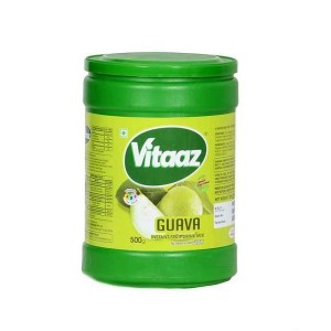 Vitaaz Guava Instant Fruit Drink Mix 500g Jar