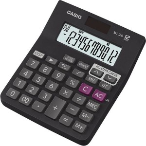 Casio MJ-12D Desktop Basic Calculator (12 Digit)