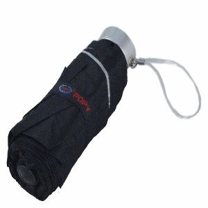 Poppy Nano Umbrella (Black)