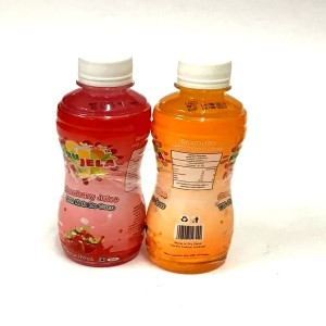 fru jela strawberry juice with nata de coco juice BUY ONE GET ONE