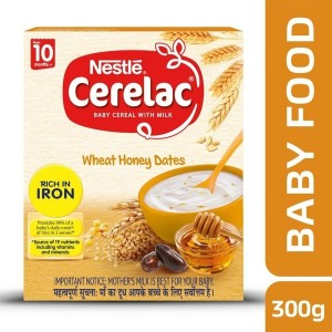 NESTLE CERELAC WHEAT HONEY DATES (10 MONTHS+,300G)
