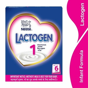 Nestlé Lactogen 1 Infant Formula Powder, Upto 6 months, 400g
