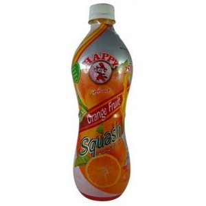 Happy Orange Fruit Squash 700ml