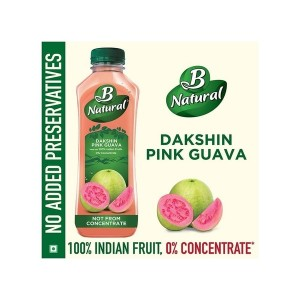 B NATURAL DAKSHIN PINK GUAVA,750ML