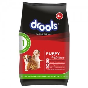 DROOLS CAT FOOD 400GM PUPPY NUTRITION BUY 2 GET 1 FREE