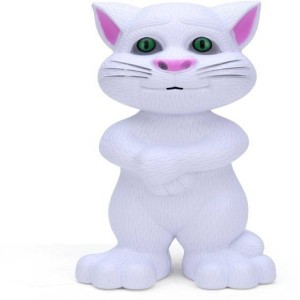 dmpl fastdeal Intelligent Talking Tom Cat With Touch Recording Story Rhymes & Songs (Multicolor)