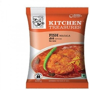 KITCHEN TREASURES FISH MASALA 100GM