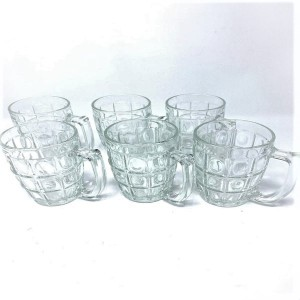 Tropical Mug Glasses 6 PSC
