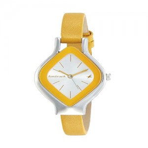 Fastrack Analog White Dial Women's Watch - 6109SL01