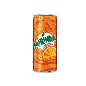 Mirinda Orange Soft Drink - 250ml Can