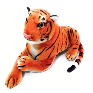PATNA Cute Sitting Tiger Animal Stuffed Soft Plush Toy
