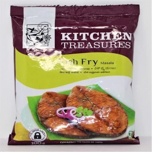 KITCHEN TREASURES FISH FRY MASALA(25%OFFER)
